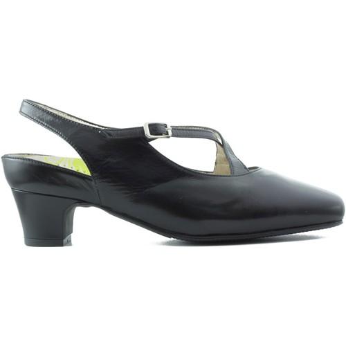Chaussures Femme Escarpins Drucker Calzapedic anatomique grande femme confortable et so NOIR