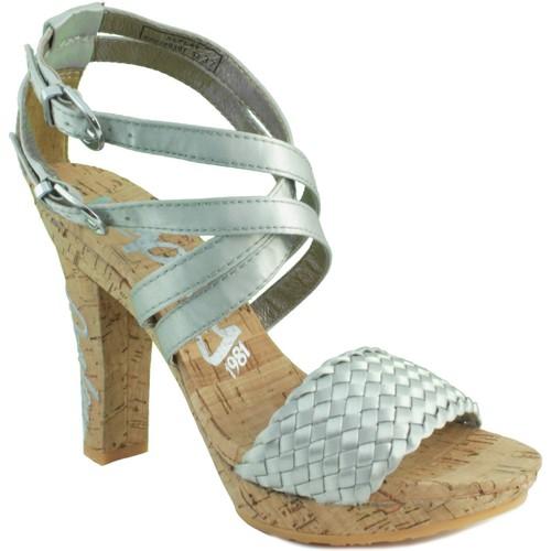 Chaussures Femme Sandales et Nu-pieds Replay ELSA ARGENT ARGENT