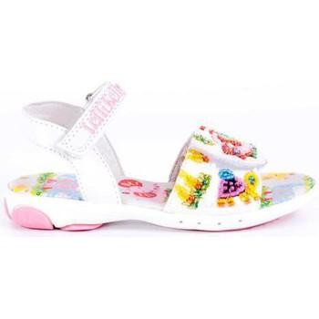Chaussures Fille Sandales et Nu-pieds Lelli Kelly Lelli Kelly éléphant et girafe 2 BLANC