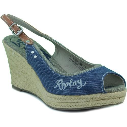 Chaussures Femme Sandales et Nu-pieds Replay cinquième femme MARIN