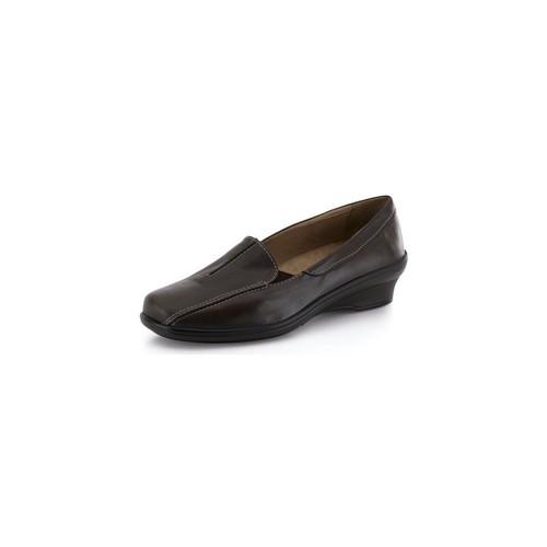 Chaussures Femme Mocassins Calzamedi Moccasin  confortable profilée BRUN