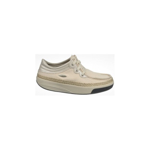 Chaussures Femme Baskets basses Mbt KITO 3 EYE LACE CANVAS W NATURAL
