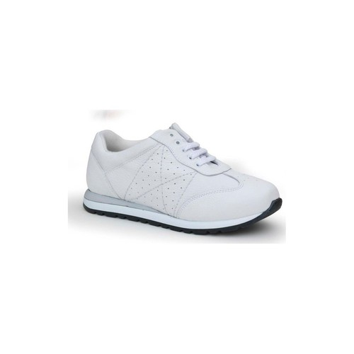 Chaussures Femme Baskets basses Calzamedi sport confortables femme BLANC
