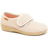 Chaussures Femme Chaussons Calzamedi postopératoire intérieur confortable BEIGE