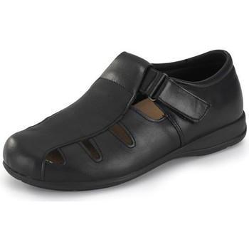 Chaussures Sandales et Nu-pieds Calzamedi large sandale e 15 NOIR