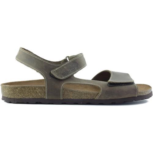 Interbios m confortable homme de santal BRUN - Chaussures Sandale Homme