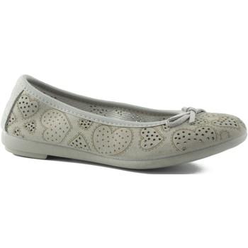 Chaussures Fille Ballerines / babies Vulladi Manoletinas fendus BEIGE