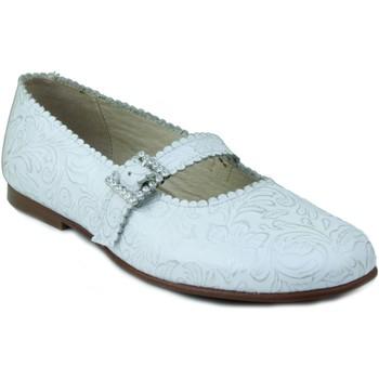 Chaussures Fille Ballerines / babies Rizitos Ringlet fille chaussures en peau de communion BLANC