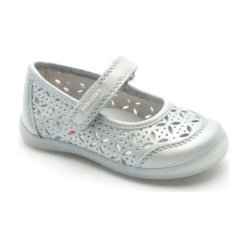 Chaussures Fille Ballerines / babies Pablosky Danseur  avec GRIS