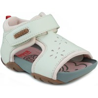Chaussures Fille Sandales et Nu-pieds Camper CAMPER JEDI PAU EGGS INOX HONEY BLANC