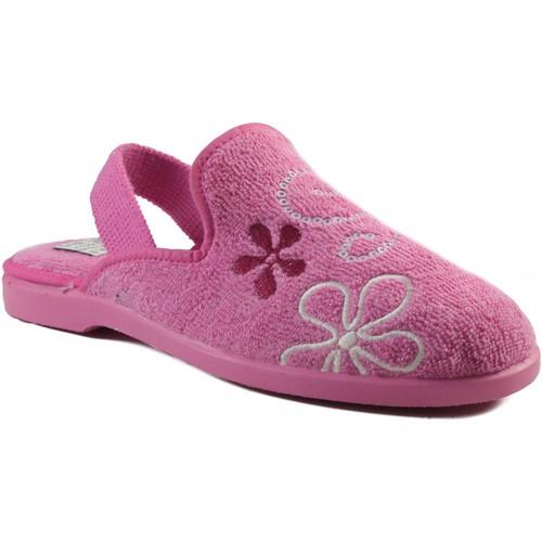 Chaussures Enfant Chaussons Vulladi Chaussures domestiques  en caoutchouc ROSE
