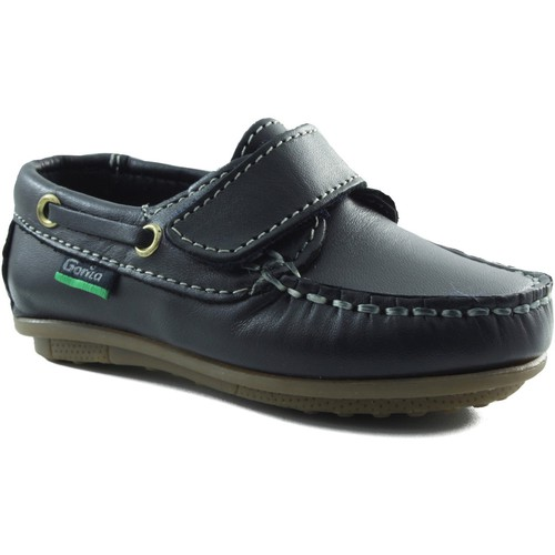 Chaussures Garçon Chaussures bateau Gorila enfant mocassin avec MARIN