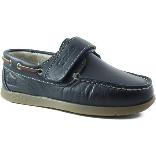 Chaussures Femme Chaussures bateau Gorila ELENA MOCASIN MARIN