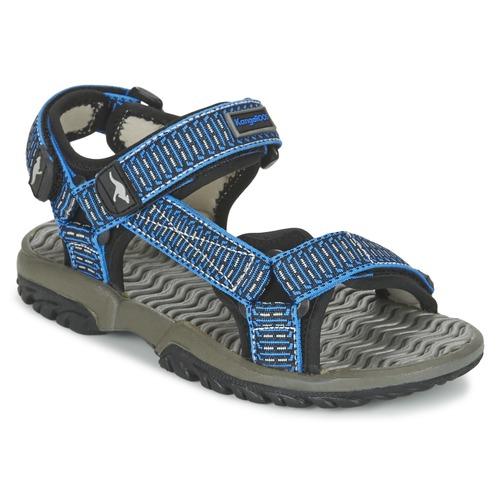 Chaussures Garçon Sandales et Nu-pieds Kangaroos KS 22 Bleu