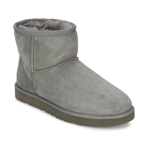 Chaussures Femme Boots UGG CLASSIC MINI Gris