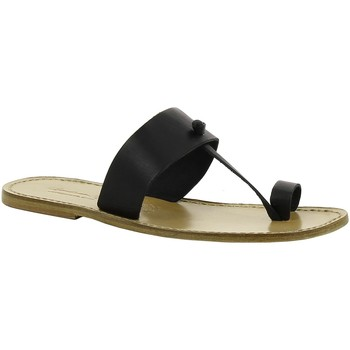 Chaussures Femme Mules Gianluca - L'artigiano Del Cuoio 554 U NERO LGT-CUOIO nero