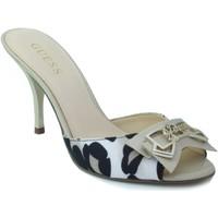 Chaussures Femme Sandales et Nu-pieds Guess léopard chaussure talon BEIGE