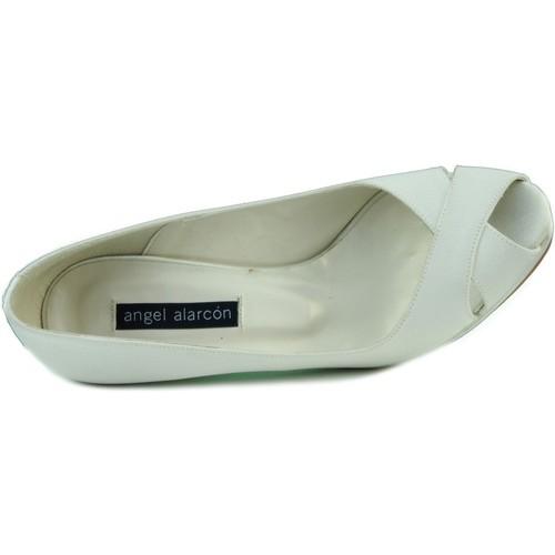 Chaussures Femme Escarpins Angel Alarcon RASO OPORTO BLANC