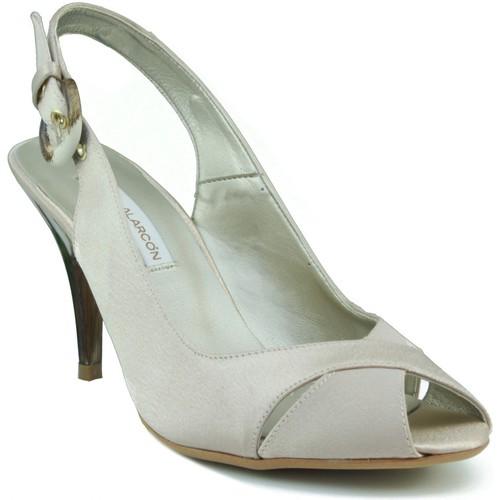 Chaussures Femme Sandales et Nu-pieds Angel Alarcon partie chaussure de femme élégante BEIGE