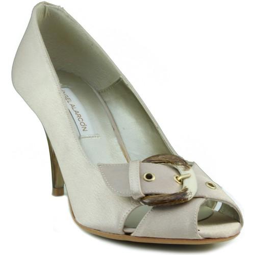 Chaussures Femme Escarpins Angel Alarcon chaussure de parti ouvert BRONZE