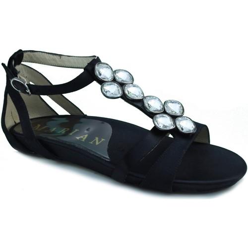 Chaussures Femme Sandales et Nu-pieds Marian robe sandale NOIR