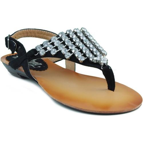 Chaussures Femme Sandales et Nu-pieds MTNG MUSTANG CAMINHA NOIR