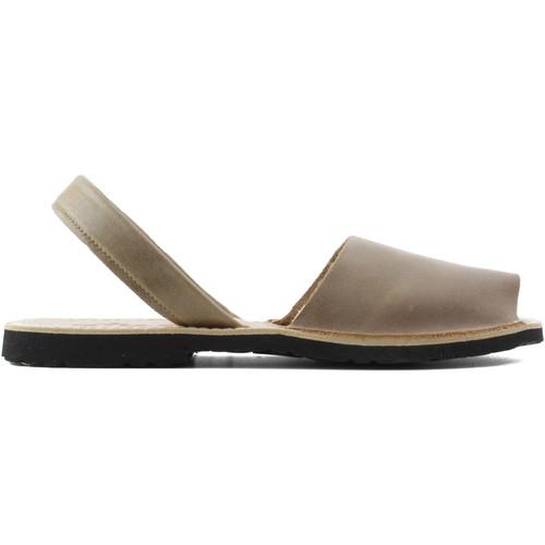 Chaussures Mules Arantxa Minorque  de la peau CUIR