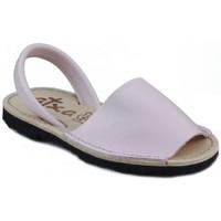 Chaussures Mules Arantxa Minorque  de la peau ROSE