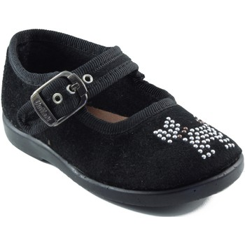 Chaussures Fille Ballerines / babies Vulladi Danseurs  chien fille NOIR