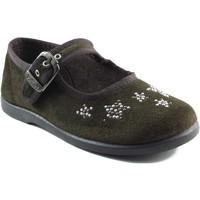 Chaussures Fille Ballerines / babies Vulladi Filles manoletinas BRUN