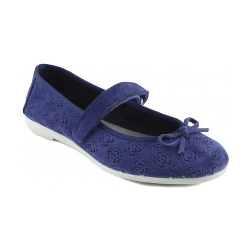 Chaussures Femme Ballerines / babies Vulladi VUL LADI SERRAJE BLEU