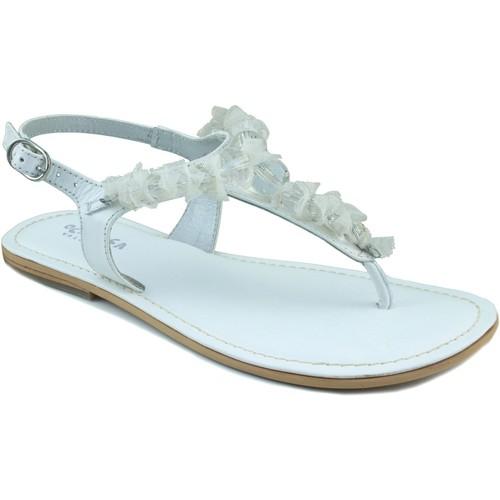 Chaussures Fille Sandales et Nu-pieds Oca Loca OCA LOCA ESCLAVA BLANC