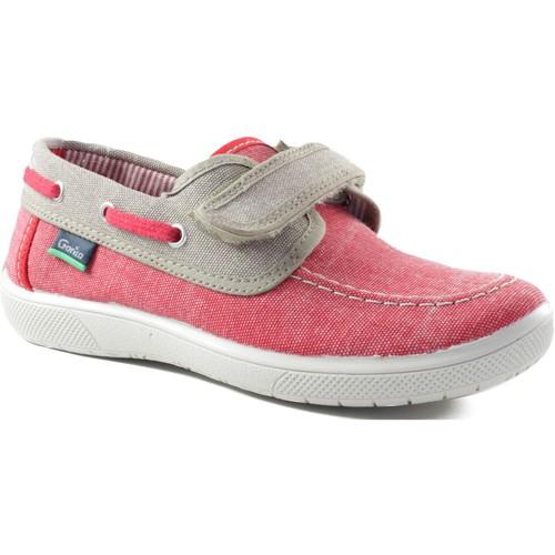 Chaussures Garçon Chaussures bateau Gorila CANVAS MIAMI ROUGE
