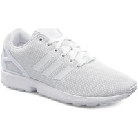 Chaussures Homme Baskets basses adidas Originals Basket  ZX FLUX Blanc BLANC