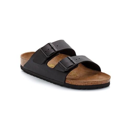 Chaussures Mules Birkenstock Sandales  Arizona Noir Mat - Noir
