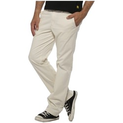 Vêtements Homme Chinos / Carrots Ünkut Ünkut Pantalon HOMME - CHINO VICIOUS - OFF WHITE Blanc