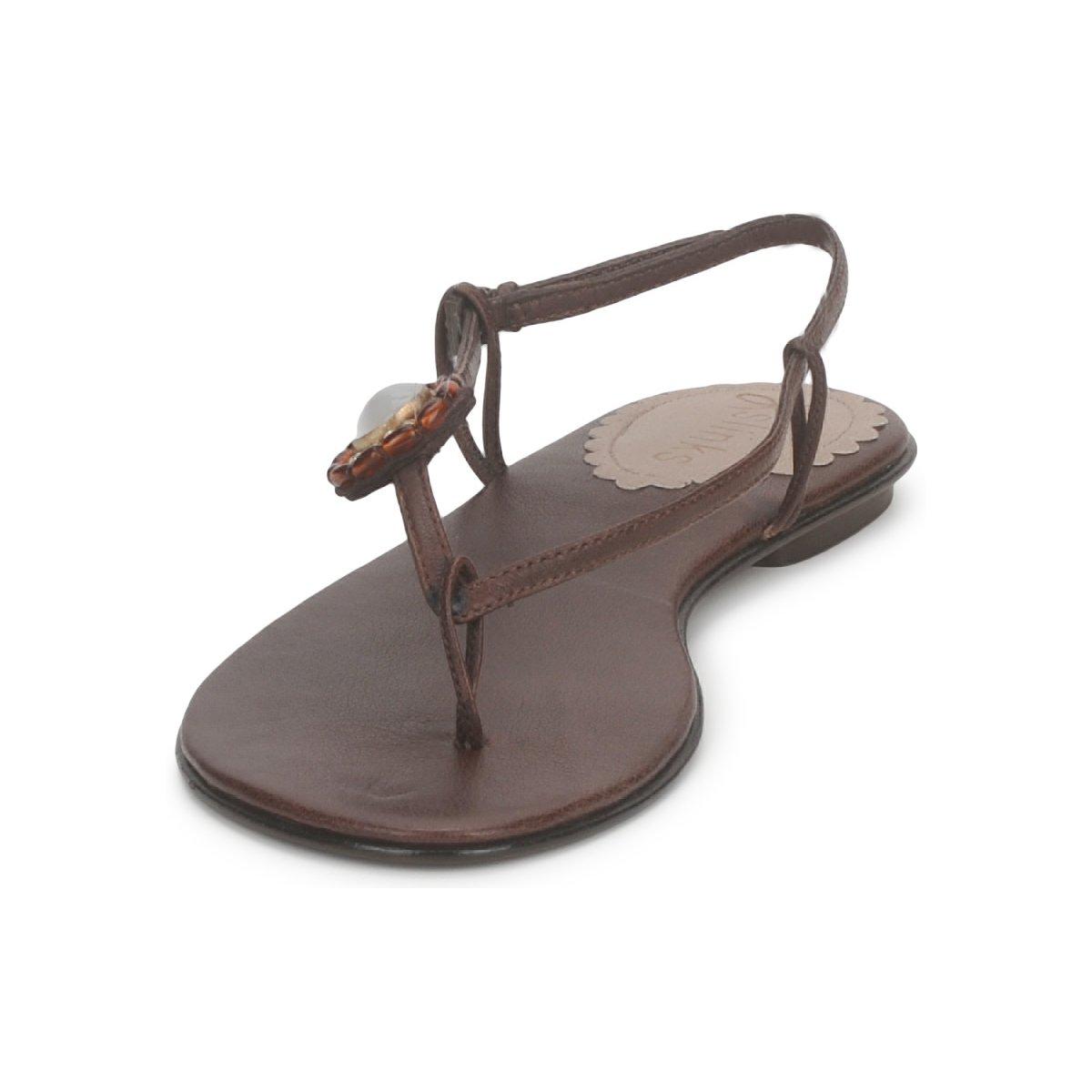 Slinks Katie Rose & Mowana Moon Chocolate - Livraison Gratuite Chaussures Sandale Femme 55,30 €