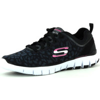 Chaussures Femme Sport Indoor Skechers Skech-Flex Power Player Noir