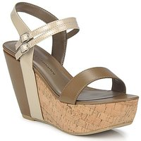 Chaussures Femme Sandales et Nu-pieds Chinese Laundry GO GETTER TAUPE/DK BEIGE
