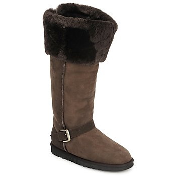 Chaussures Femme Bottes ville Love From Australia FOXY TALL ZIP CHOCOLATE