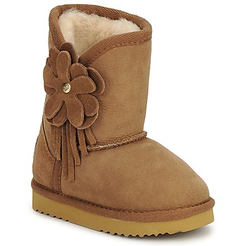 Chaussures Enfant Bottines Love From Australia KIDS CUPID FLOWER CARAMEL