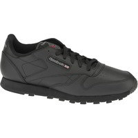 Chaussures Garçon Baskets basses Reebok Sport Classic Leather  50149 Black