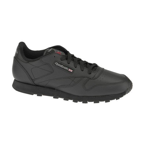 Chaussures Garçon Baskets basses Reebok Sport Classic Leather  50149 Black