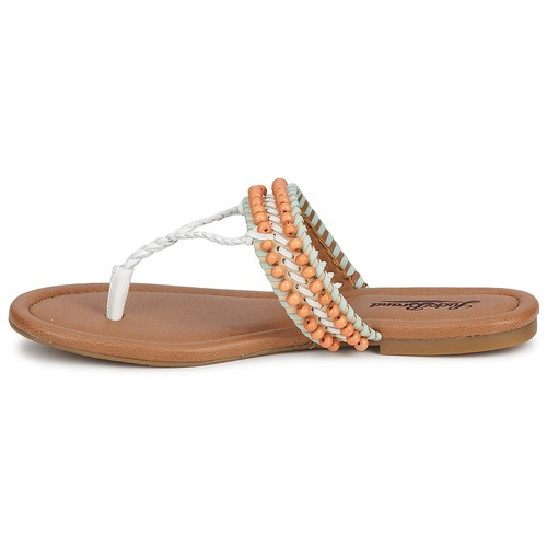 Dollis Lucky mint pieds Femme Et white Brand Nu Nude Sandales 2IYDEHW9
