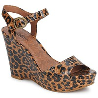 Chaussures Femme Sandales et Nu-pieds Lucky Brand LINDEY LUXE LEOPARD