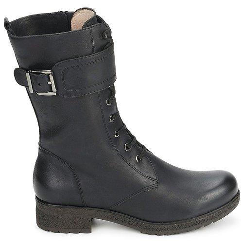 Femme Black Chaussures Bottes Ville Unisa dCxBthQsr