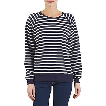 Vêtements Femme Sweats Petit Bateau CARILLON Marine / Blanc