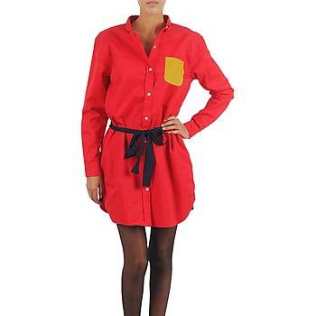 Vêtements Femme Robes courtes Petit Bateau CASH Rouge