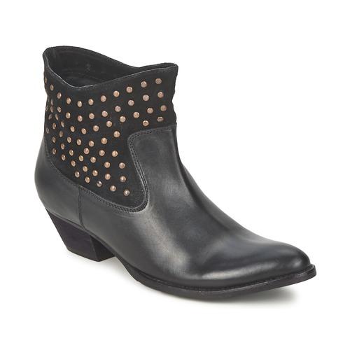 Chaussures Femme Boots Friis & Company DUBAI FLIC Noir