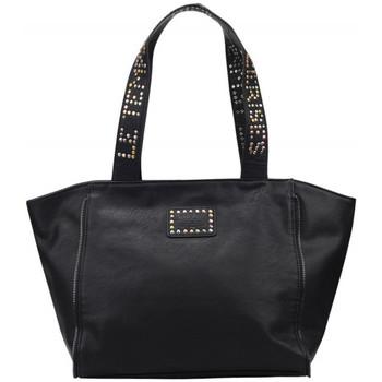 Sacs Femme Cabas / Sacs shopping Le Temps des Cerises Sac  Fresh 7 Noir Noir